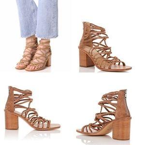 NEW! rag & bone Camille Tan Leather Sandals